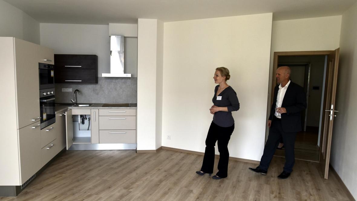 Nové byty v centru Brna v Kopečné ulic