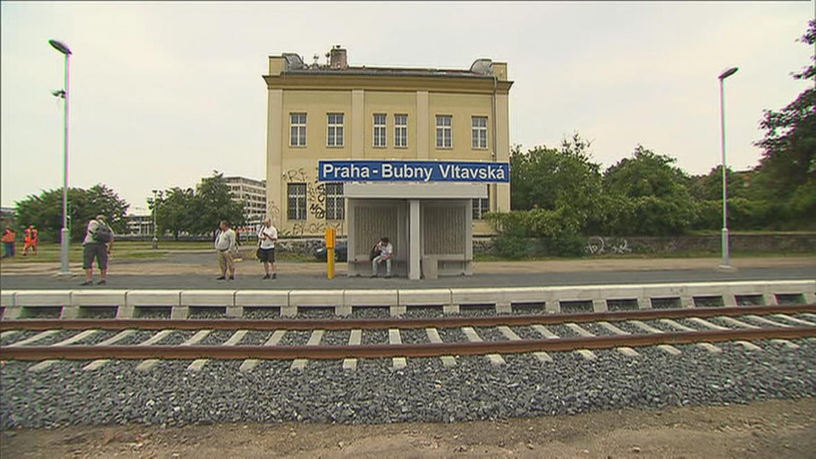 Zastávka Bubny-Vltavská