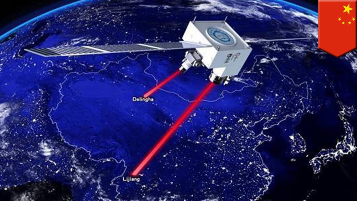 Čínská kvantová teleportace