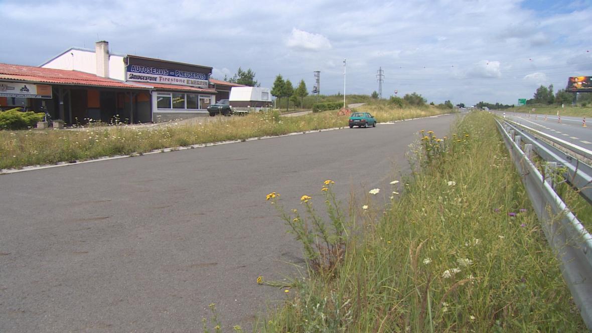 Motocentrum u dálnice D3