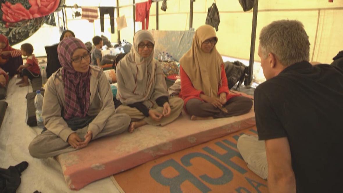 Indonésanky Rahma. Fina a Noor popsaly CNN svůj příběh