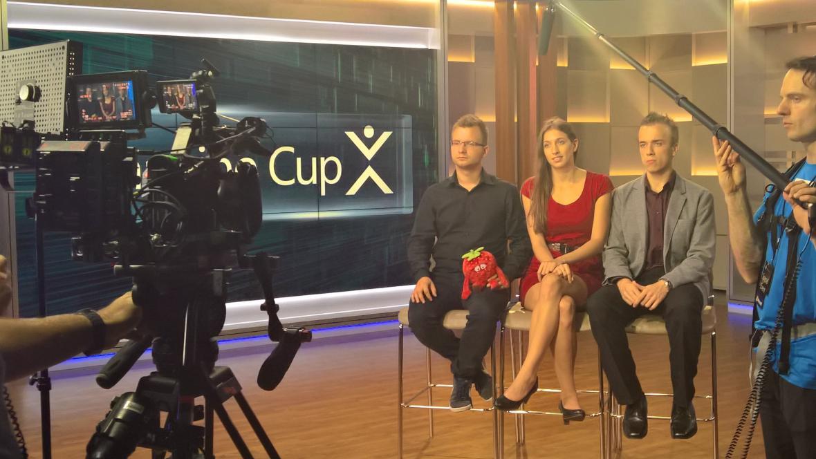 Projekt českého týmu zvítězil v soutěži Imagine Cup
