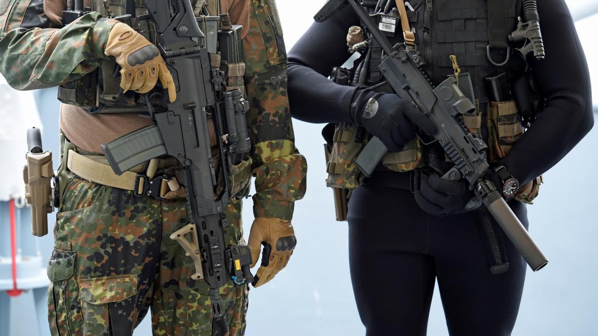 Příslušníci německé armády
