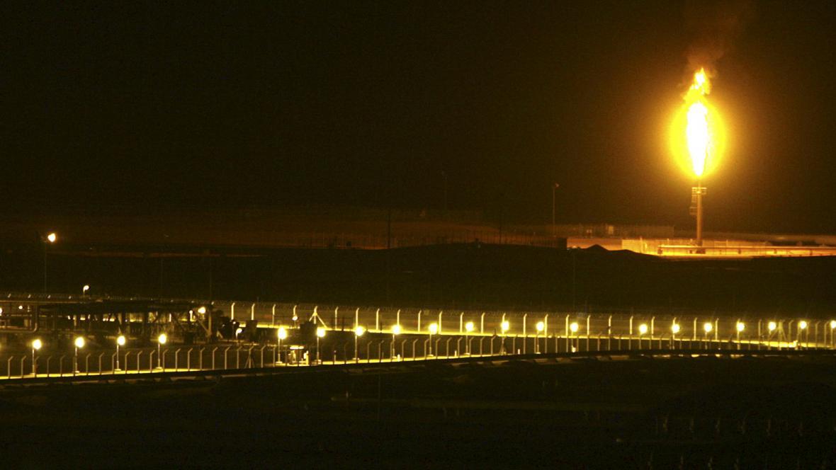 Ropný komplex v Saúdské Arábii