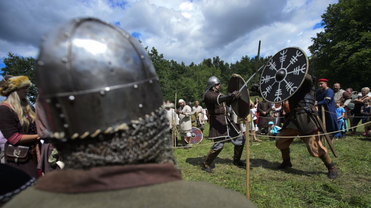 Středověká bitva. Ilustrační foto