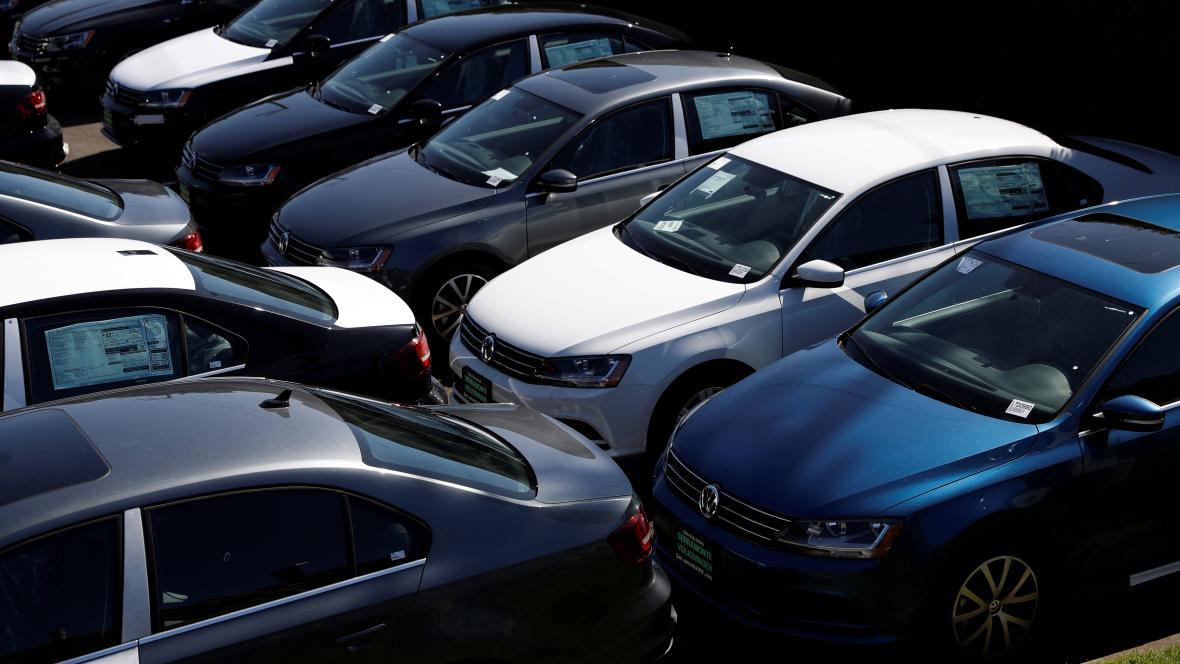 Prodej vozů Volkswagen v USA