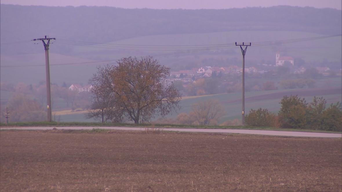 Pozemky v okolí Bučovic