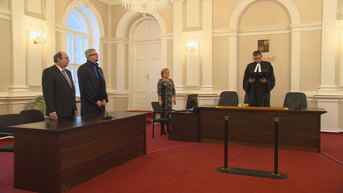 Vyhlášení nálezu Ústavního soudu