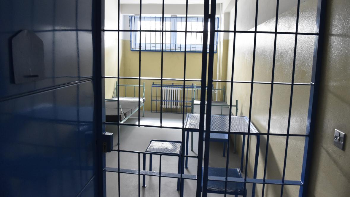 Areál věznice v břeclavské místní části Poštorná
