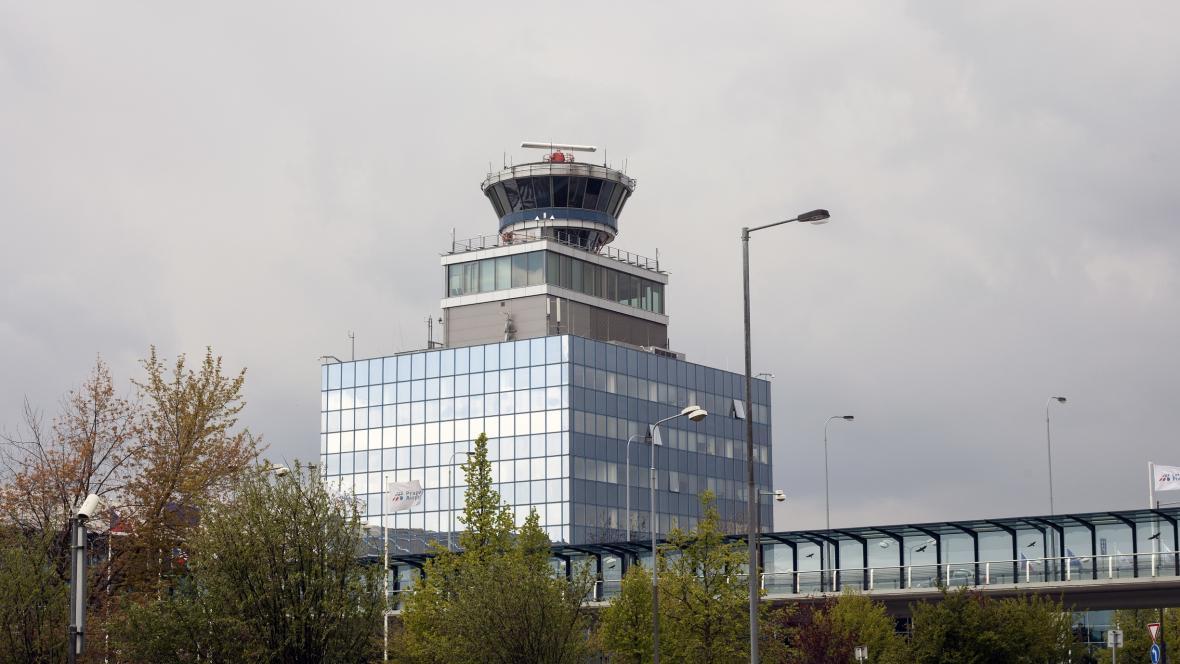 Řídící věž Letiště Vácalava Havla v Praze