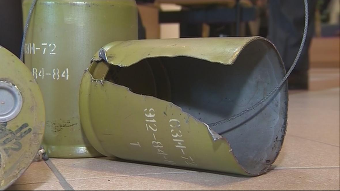Dovozem protipěchotních min nebyl spáchán trestný čin