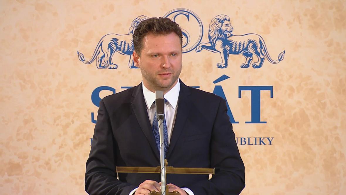 Radek Vondráček v Senátu