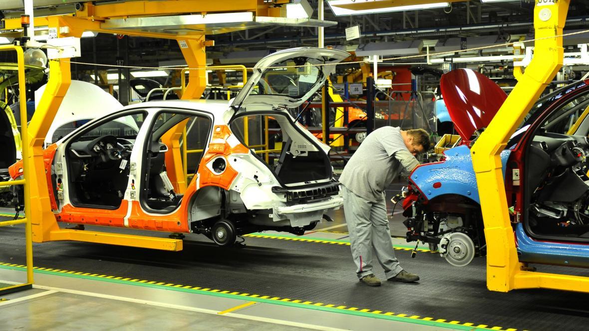 Trnavský závod automobilky PSA Peugeot Citroën