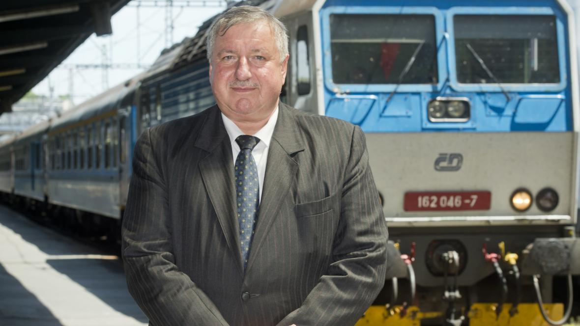Generální ředitel Správy železniční dopravní cesty Pavel Surý