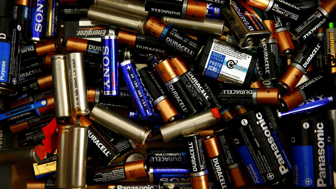 Použité baterie