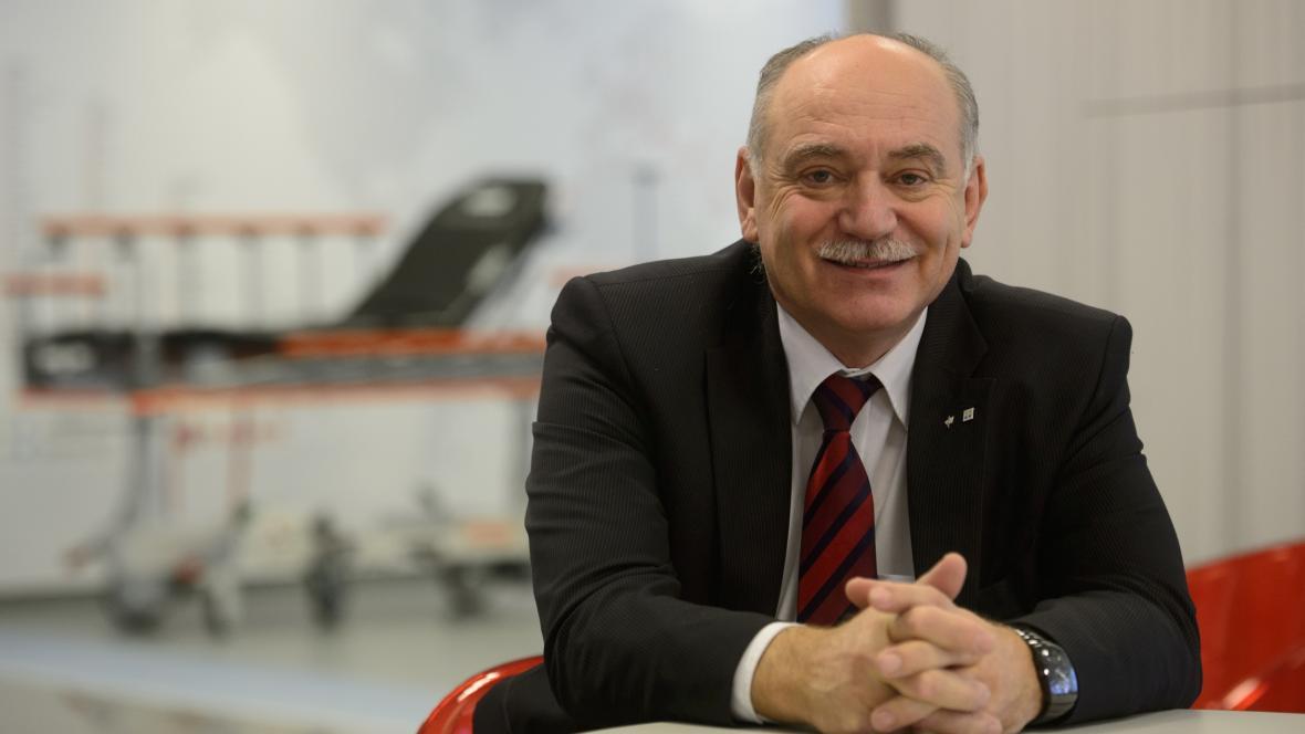Zakladatel firmy Linet Zbyněk Frolík