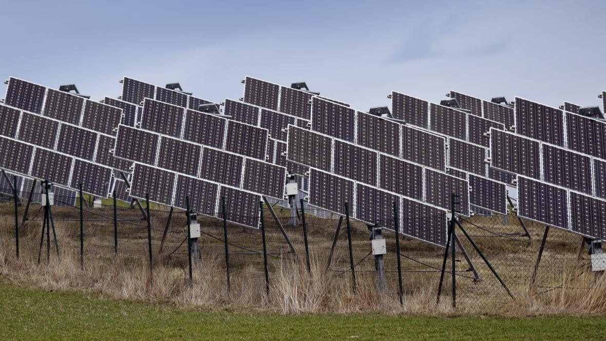 Fotovoltaické panely v Bílově na Novojičínsku