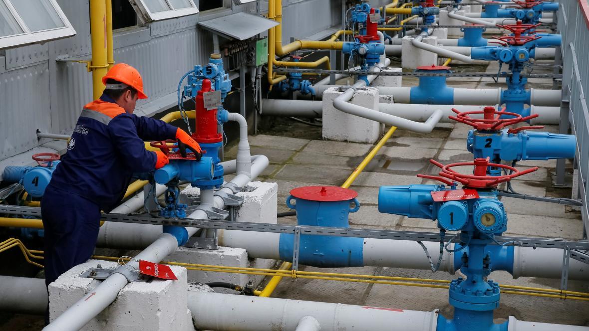 Zásobník plynu na Ukrajině