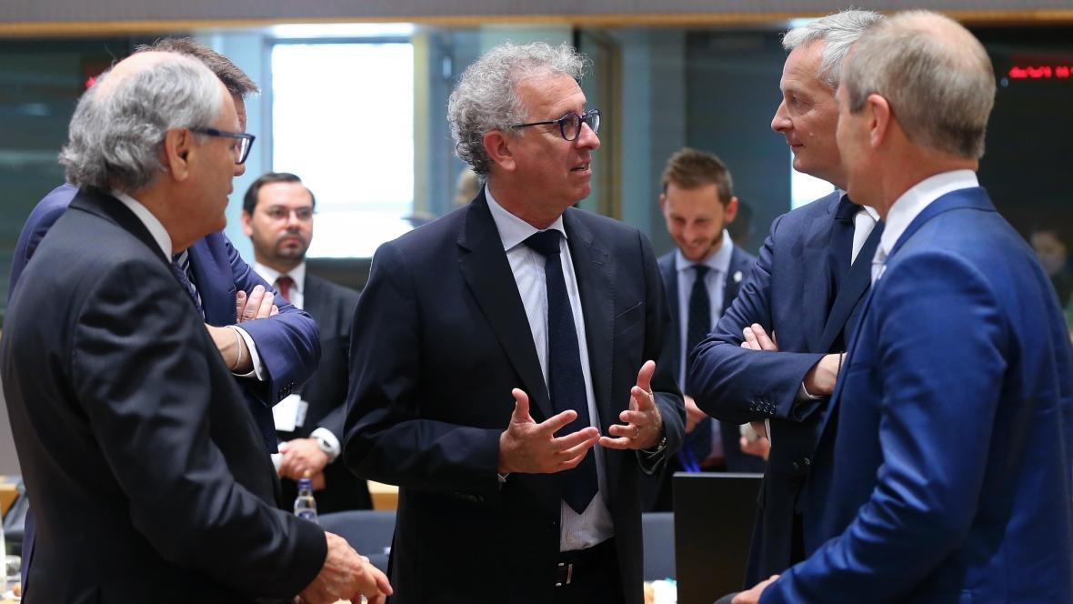 Jednání ministrů financí EU
