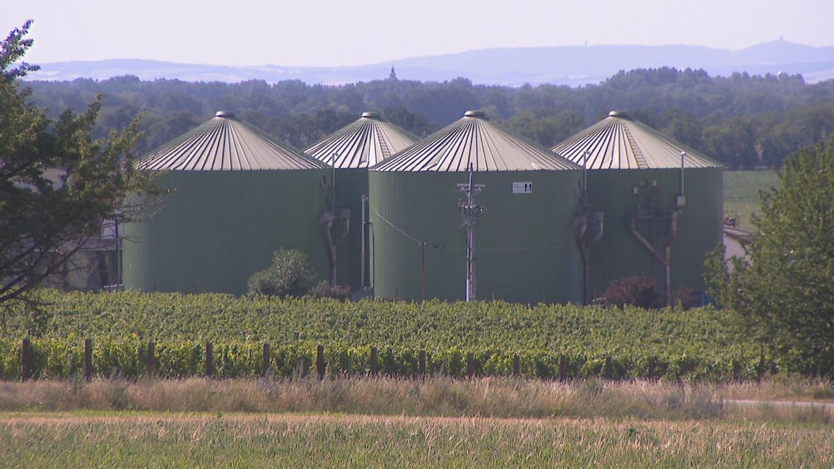 Bioplynová stanice Velký Karlov