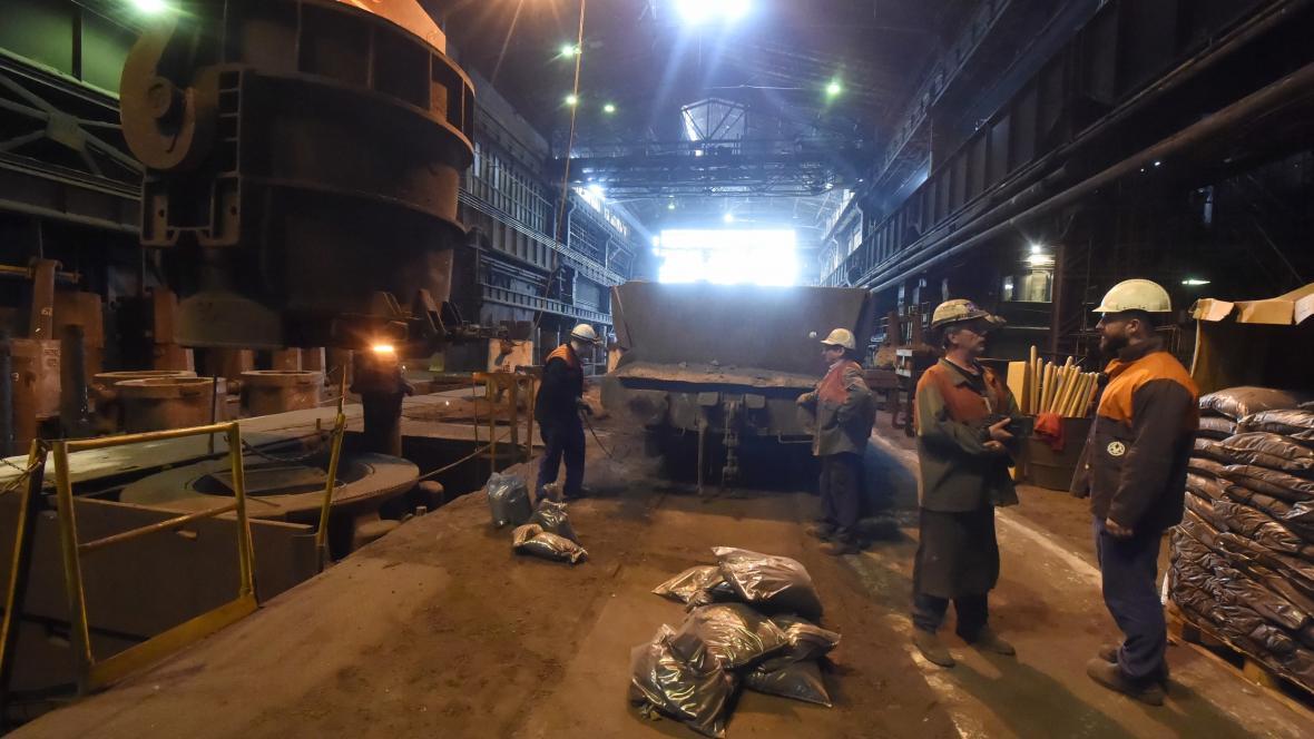 Ocelárna společnosti Vítkovice Heavy Machinery