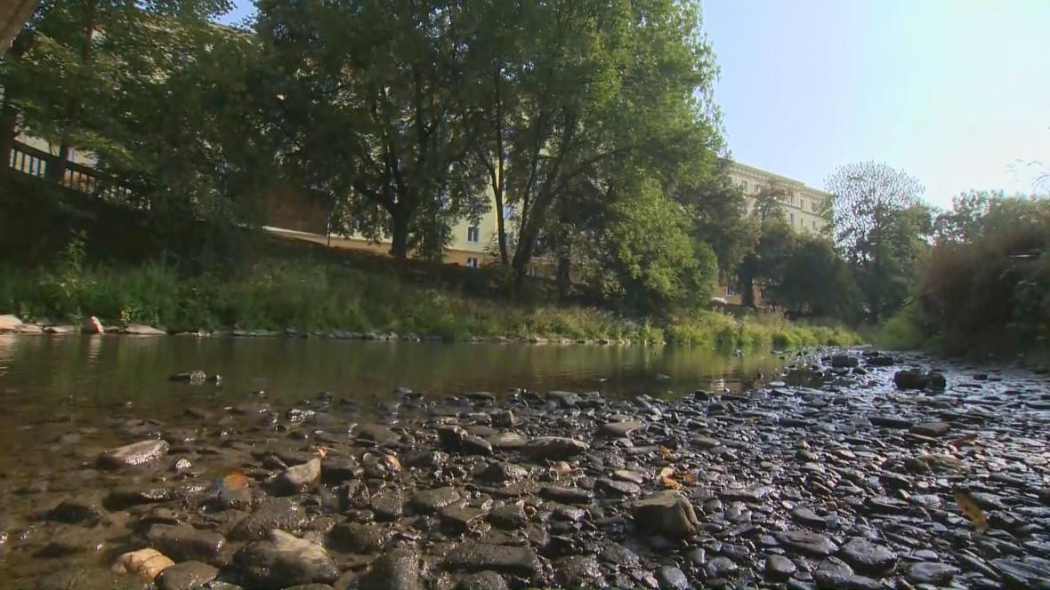 Povodí Moravy hlásí sucho
