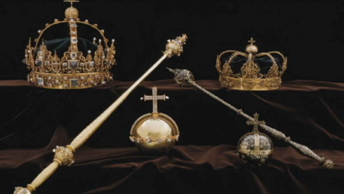 Ukradené švédské královské klenoty