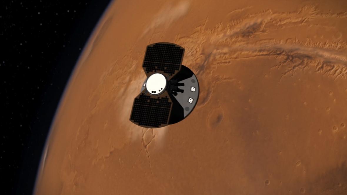 Sonda InSight na cestě k Marsu