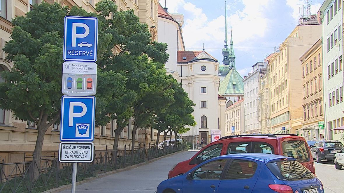 Nové značky v centru Brna