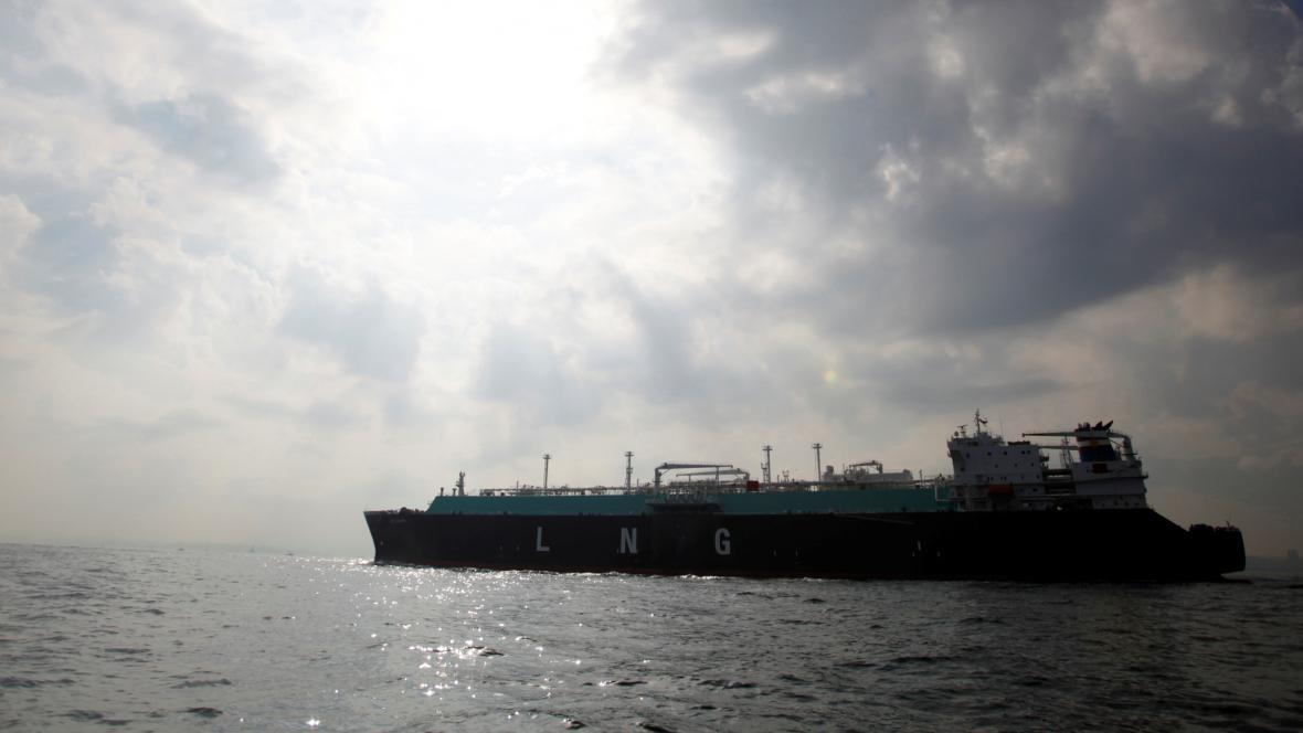 Přeprava LNG v Tokijském zálivu