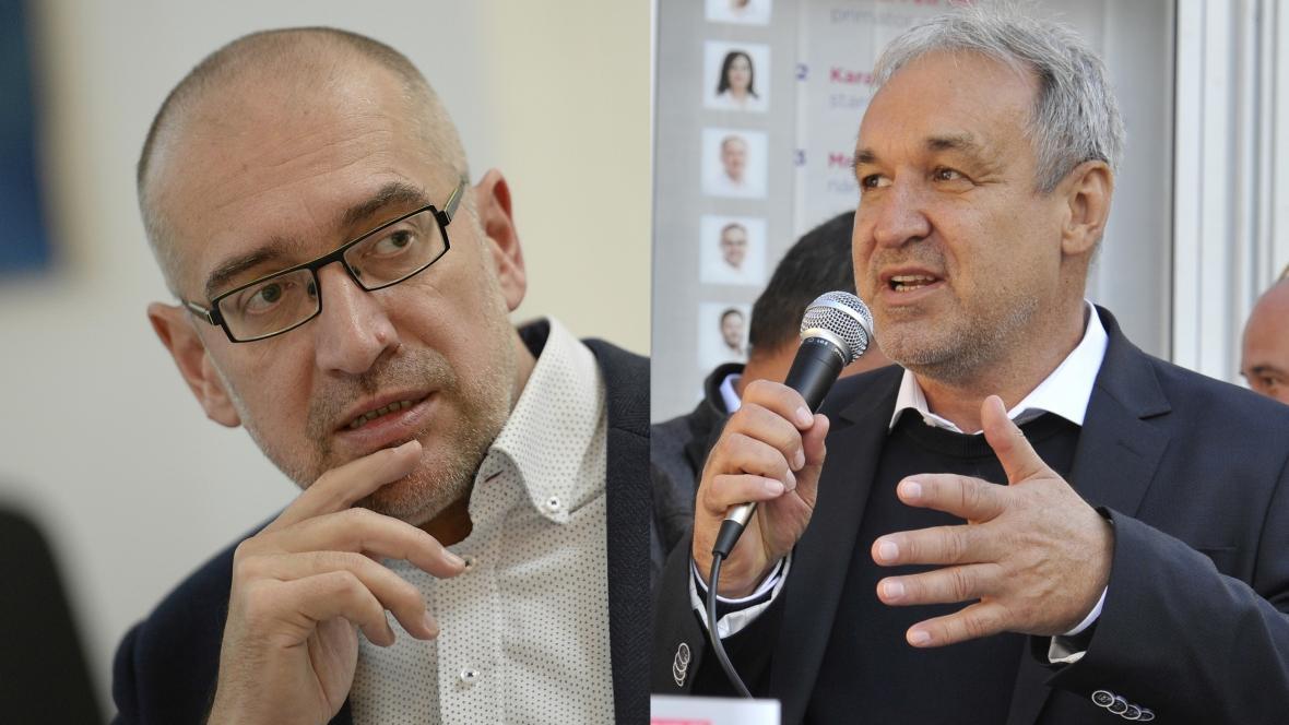 Mikuláš Bek a Jaromír Ostrý