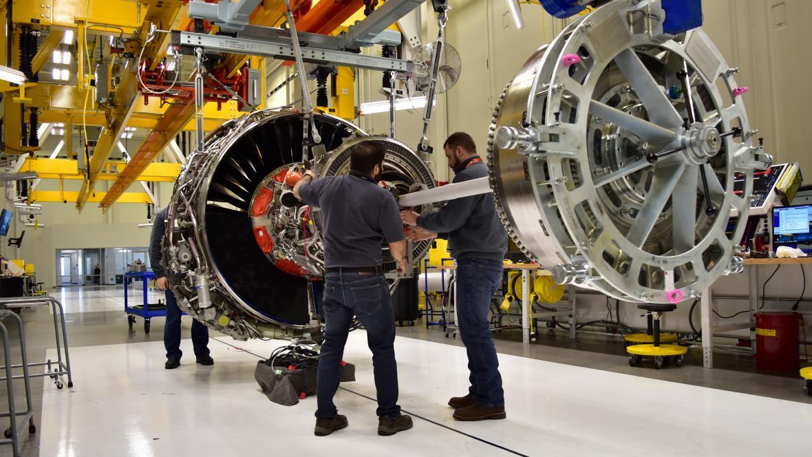 Výroba v americké továrně General Electric