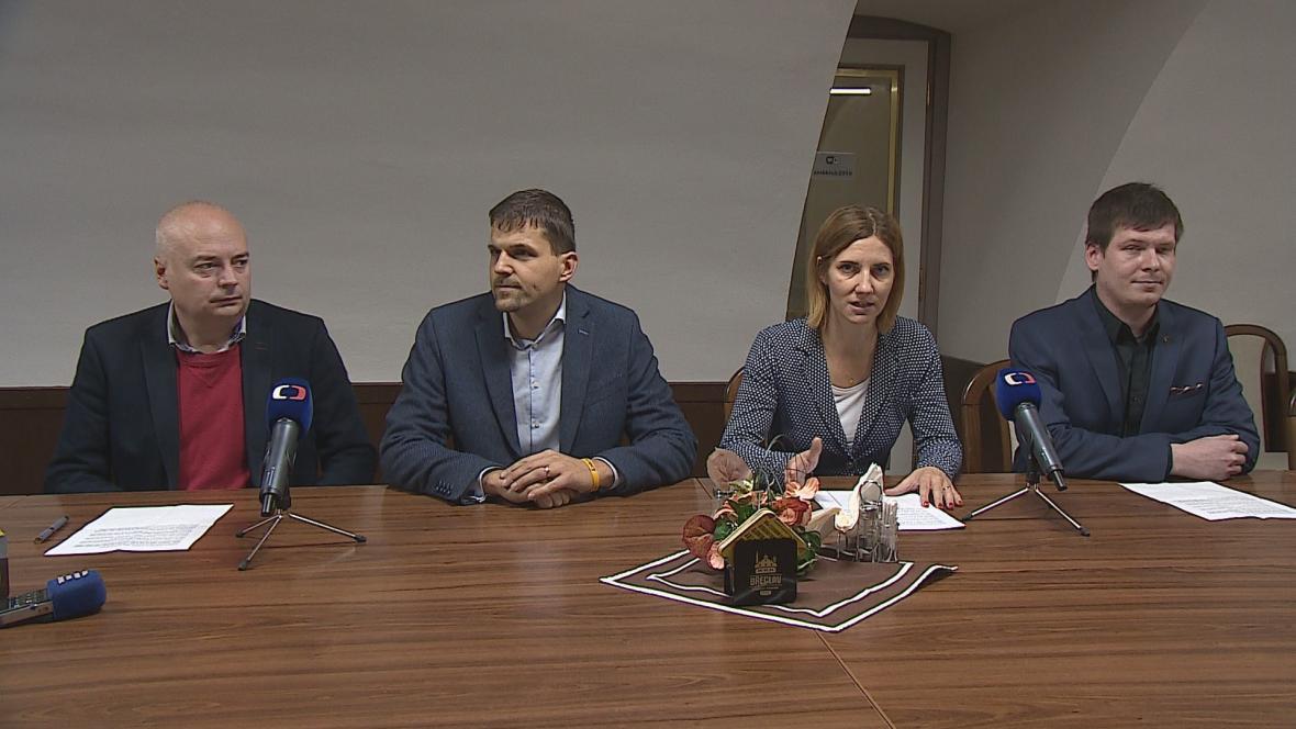 Brněnská koalice je složená z ODS, KDU-ČSL, Pirátů a ČSSD