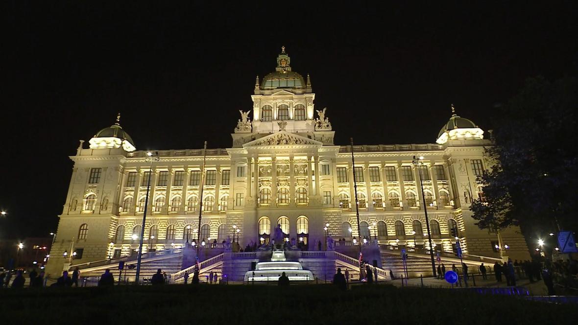 Budova zrekonstruovaného Národního muzea