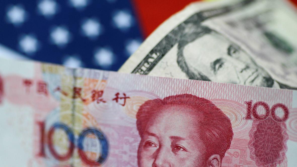 Čínská a americká měna