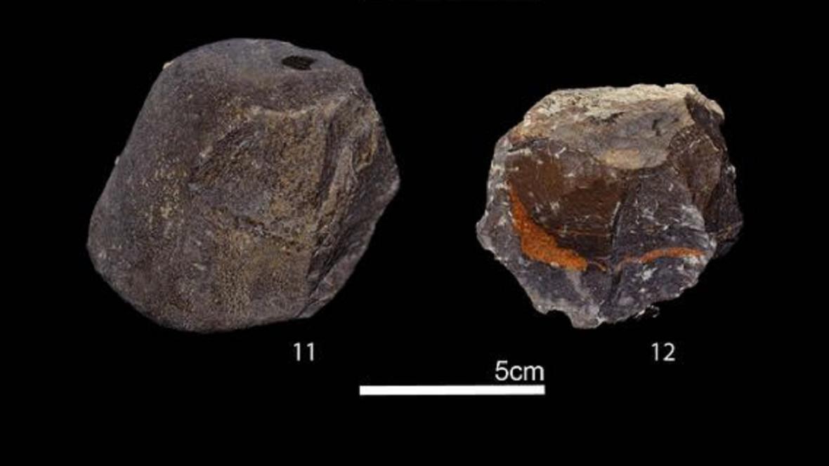 Kamenné nástroje z Afriky