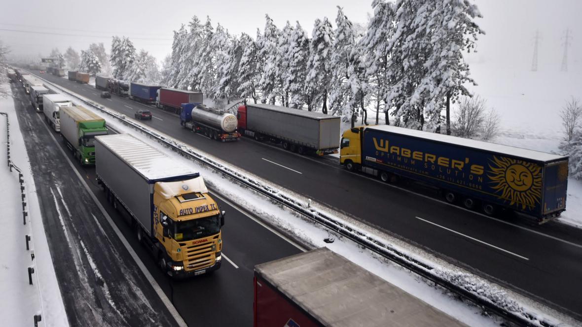 Situace na dálnici D1 v tomto týdnu
