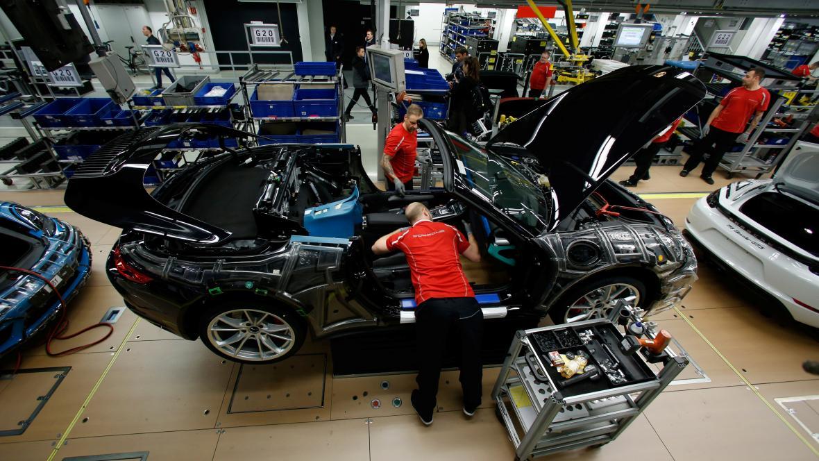 Německá továrna Porsche
