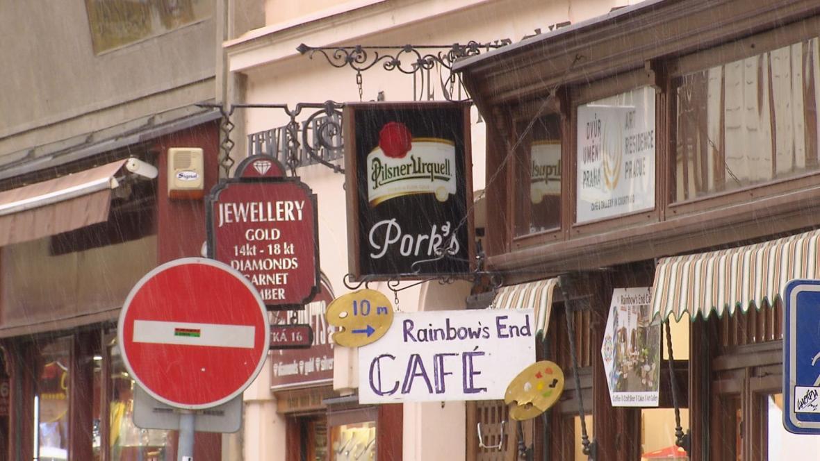 Reklamní smog v Praze
