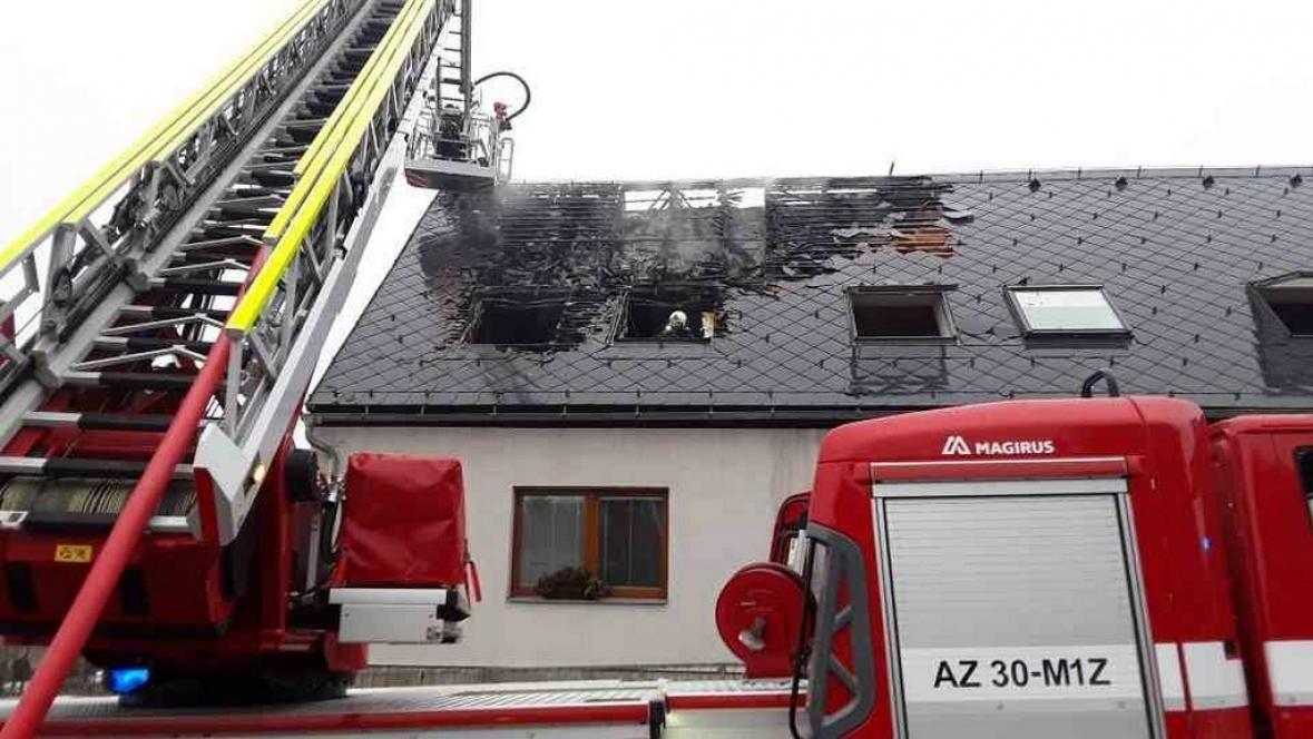 Požár v Dalově