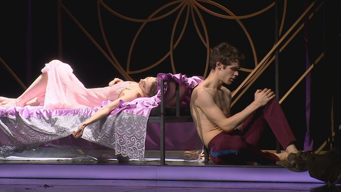 Nová inscenace baletu Romeo a Julie v Brně