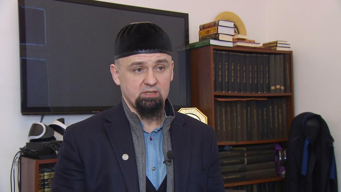 Předseda pražské muslimské obce Leonid Kušnarenko