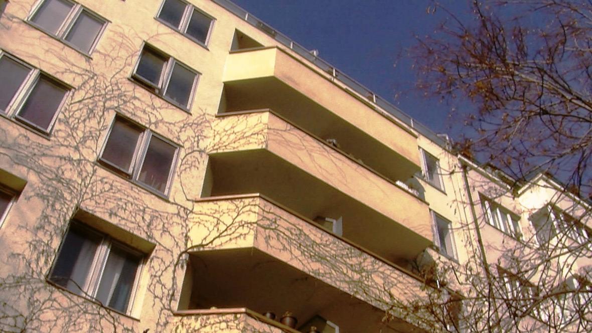 Domy v Praze spravované Ruskem