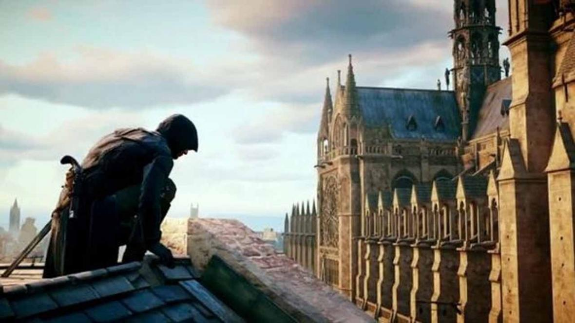 Notre-Dame ve hře Assassins Creed Unity