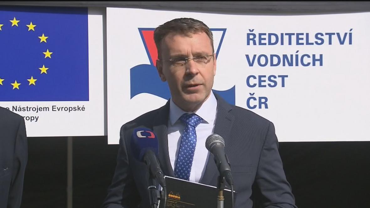 Ministr dopravy Vladimír Kremlík (netraník za hnutí ANO)
