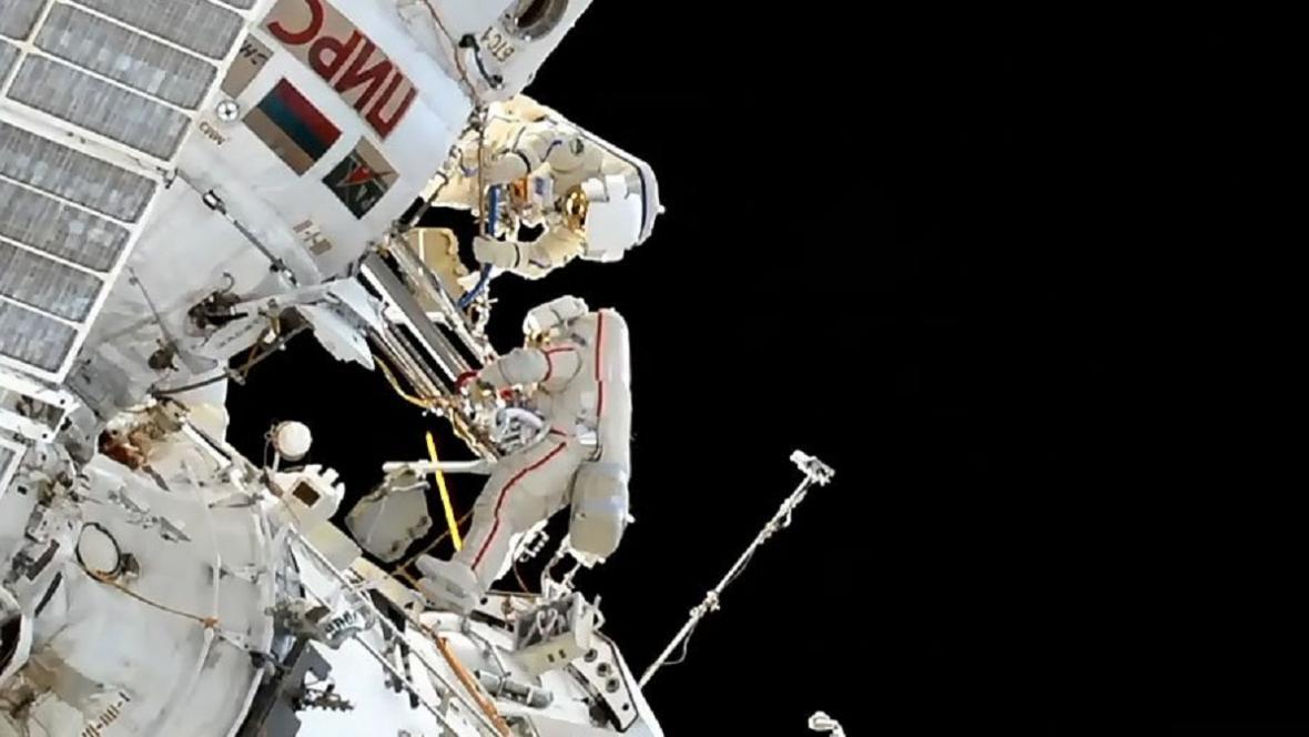 Údržba ISS