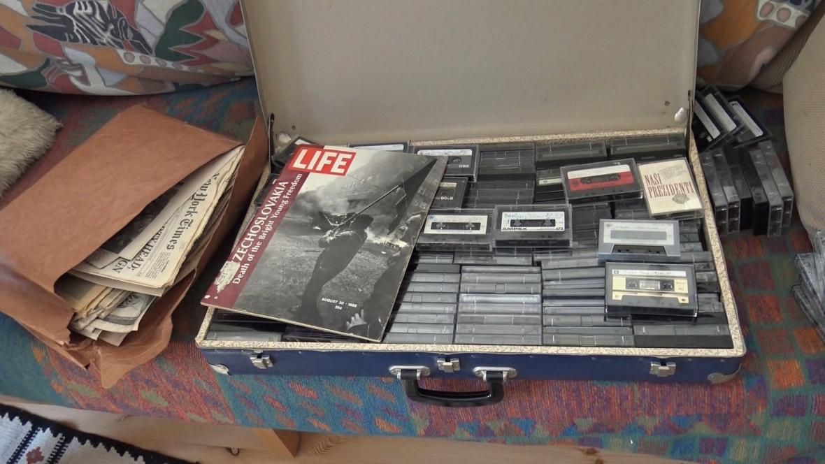 Kufr plný unikátních nahrávek