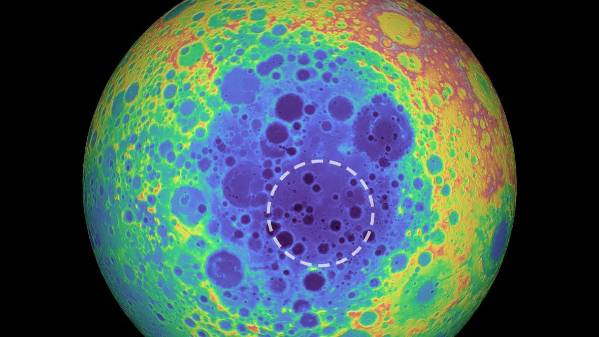 Anomálie na Měsíci