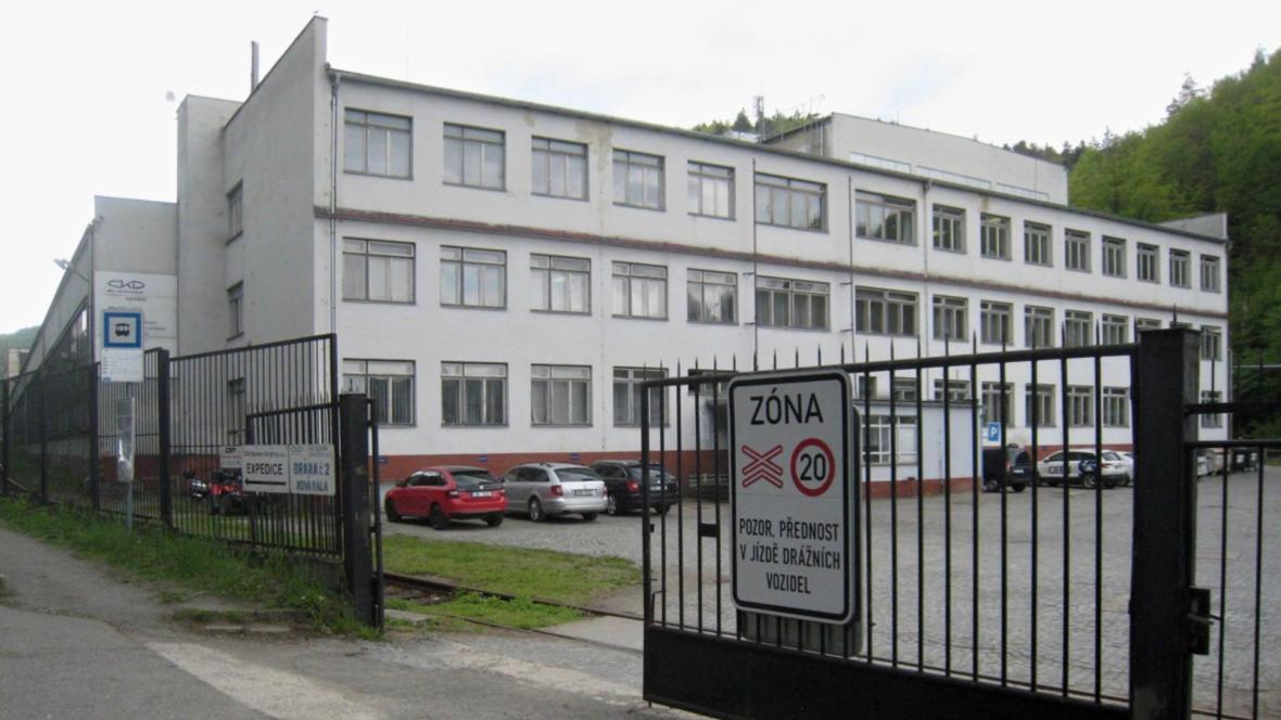 Budova strojíren ČKD Blansko