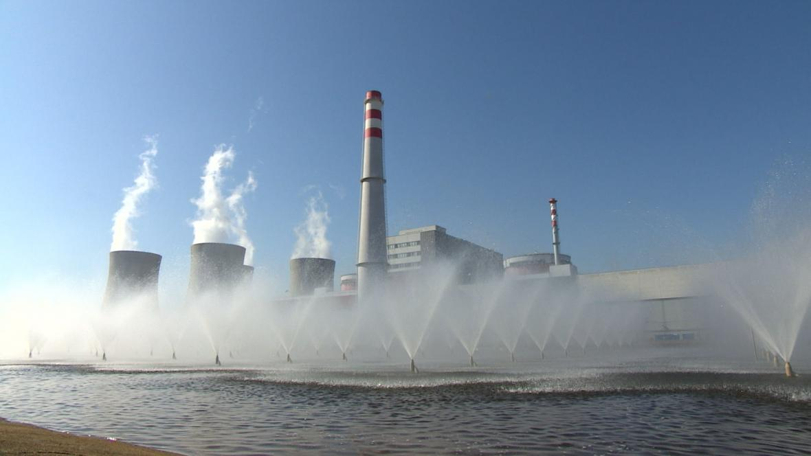 Ochlazování v Jaderné elektrárně Temelín